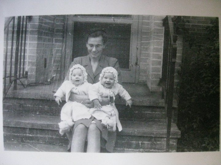 My grandmother with my mom and aunt!